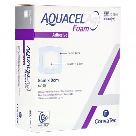 Аквасель™ Ag Foam повязка с серебром