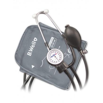 Тонометр механический со встроеным стетоскопом