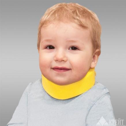 Бандаж на шейный отдел позвоночника для новорожденных 2,5 см.