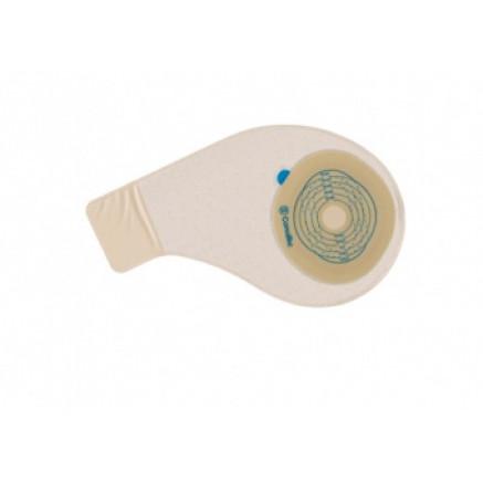 Однокомпонентный дренируемый калоприемник со встроеным фильтром, анатомической формы